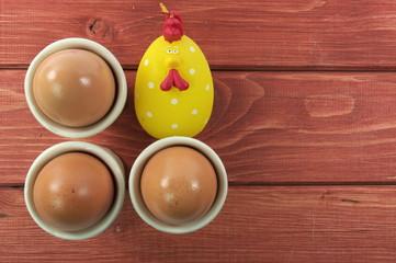 jajka i kurczak
