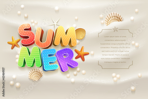 Summer Design template