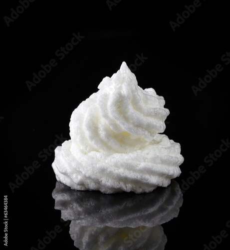 whipped eggs whites