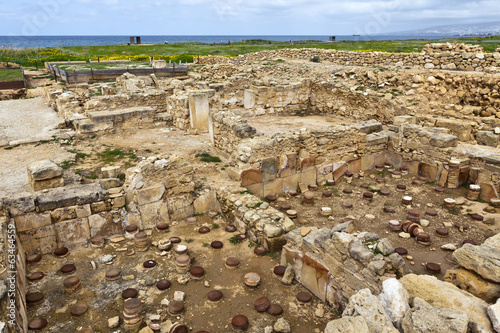 Archaeological Helenistic and Roman site at  Paphos in Cyprus.