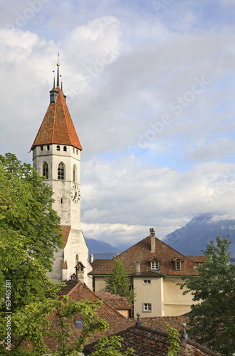 Thun. Church. Switzerland