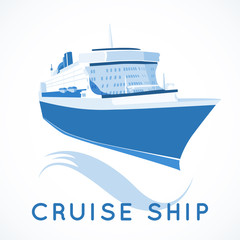 cruise ship label