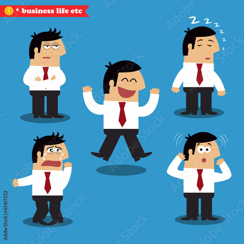 Manager emotions in poses