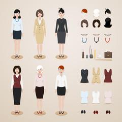 Office women set