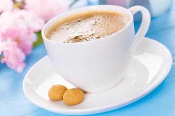 Kaffee mit Amarettini