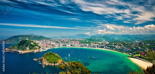 Foto op Canvas Mediterraans Europa San sebastian