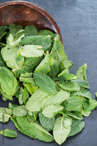 Heap of fresh Mint