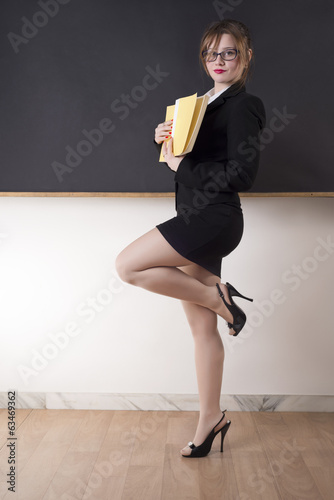 Portrait Of An Attractive Teacher