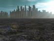 City in barren lands