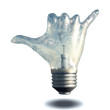 Hang Loose Gesture Light Bulb