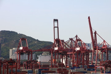 Container Port, Hong Kong