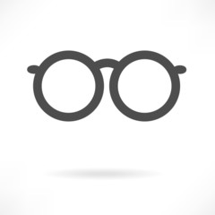 Eyeglasses Sign vector