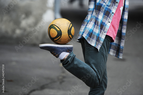 Football freestyle
