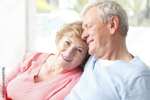 Portrait of senior couple