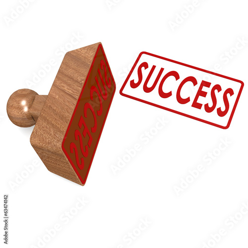 Success stamp
