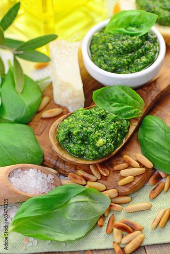 Parmesan, Pesto