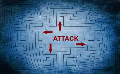 Attack maze concept