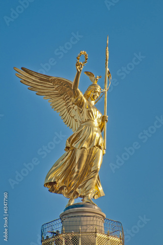 The Siegessäule at Berlin, Germany