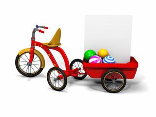 Triciclo rosso