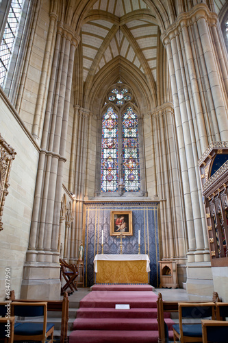 Lancing chapel, Lancing college, West Sussex, England, the large