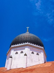 Rooftop of Kapitan Keling Mosque Penang