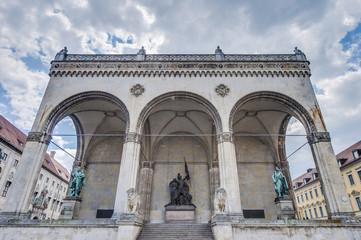 Odeonplatz located in Munich, Germany