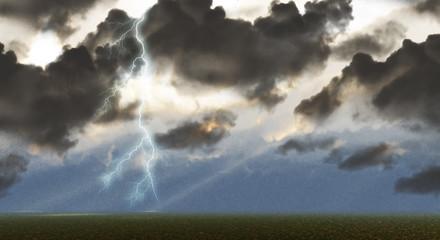 Lightning showdown