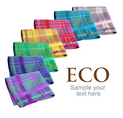 Eco handkerchiefs collection
