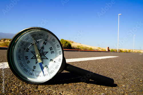 Compass on the Road