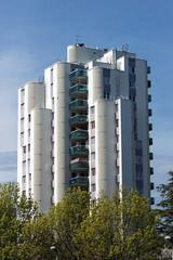 tour d'habitationen banlieue parisienne