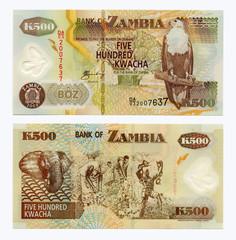Zambia, 500 Kwacha polymer, 2003