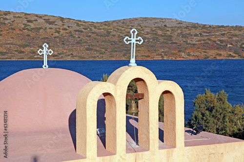 classical orthodox Greek church(Crete,Greece)
