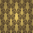 Vintage seamless wallpaper. Vintage background