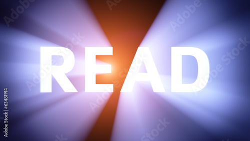 Illuminated READ