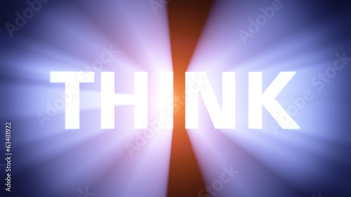Illuminated THINK