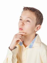 Portrait of a teenage boy