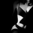 Leinwanddruck Bild - Nude woman erotic
