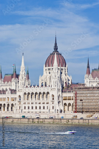Parliament Building at Budapest, Hungary