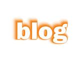 """""""BLOG"""" (social media news online website web internet community)"""