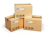 Cardboard boxes - 63485972