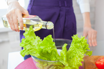 Make an italian salad