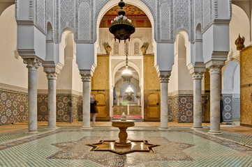 Moulay Ismail Mausoleum at Meknes, Morocco