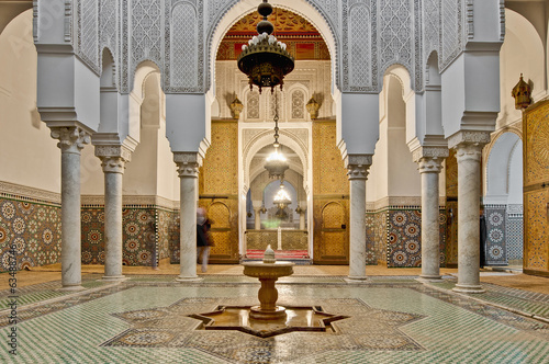 Staande foto Afrika Moulay Ismail Mausoleum at Meknes, Morocco