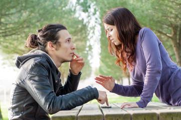 quarrel of love