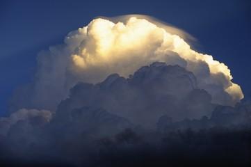 Cumulus Storm Cloud, Kalahari desert