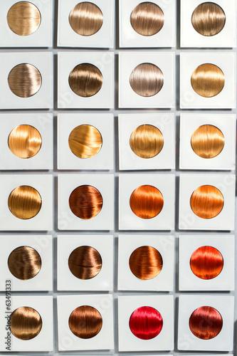 Fototapeta Hairstyle. Hair tone options