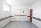 Hall of deep hospital