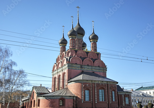 Church of the Epiphany. Yaroslavl, Russia