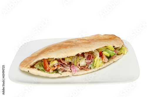 Stuffed pitta