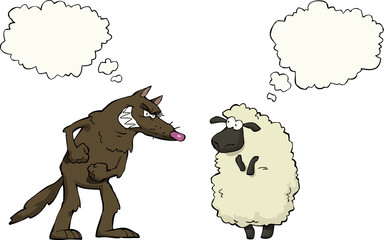 Wolf vs sheep